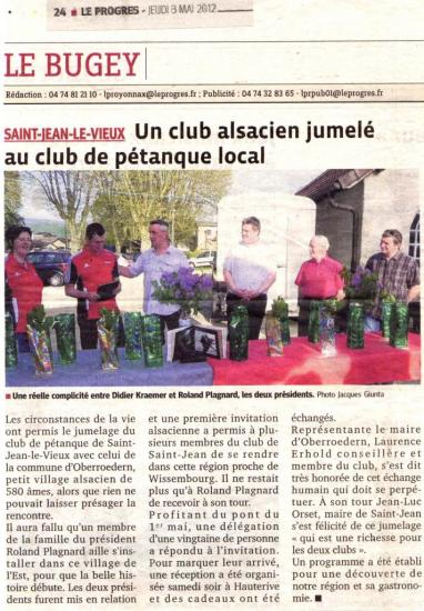 St jean article du 3 mai 2012 for Saint 3 mai